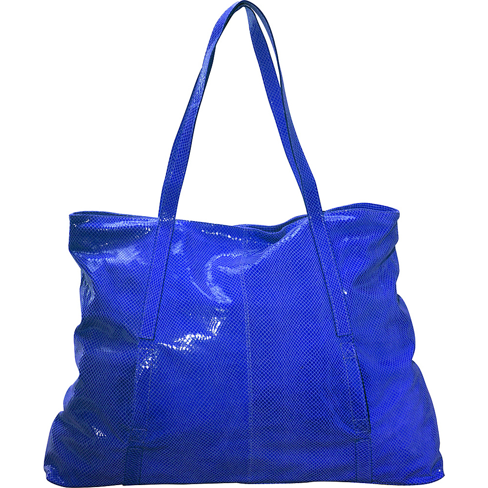 Latico Leathers Nicky Tote Blue Latico Leathers Leather Handbags