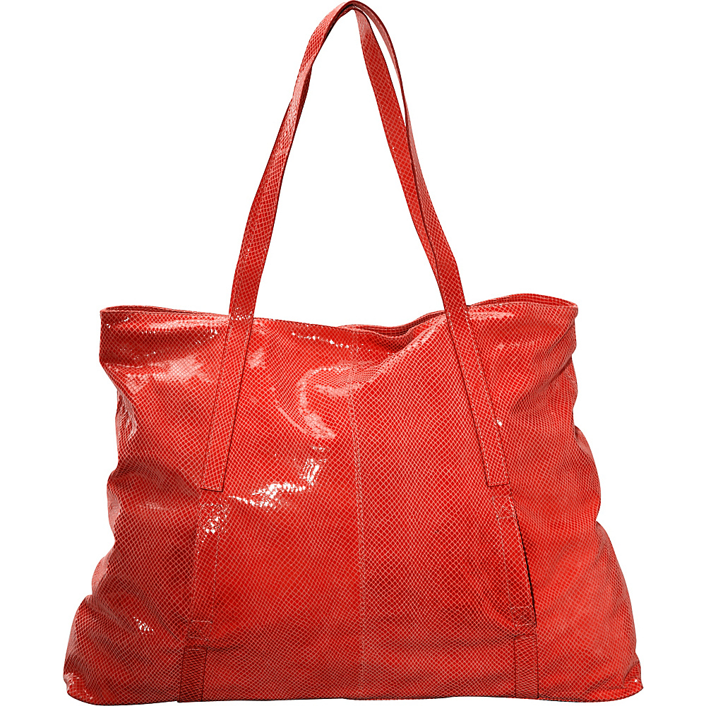 Latico Leathers Nicky Tote Red - Latico Leathers Leather Handbags - Handbags, Leather Handbags