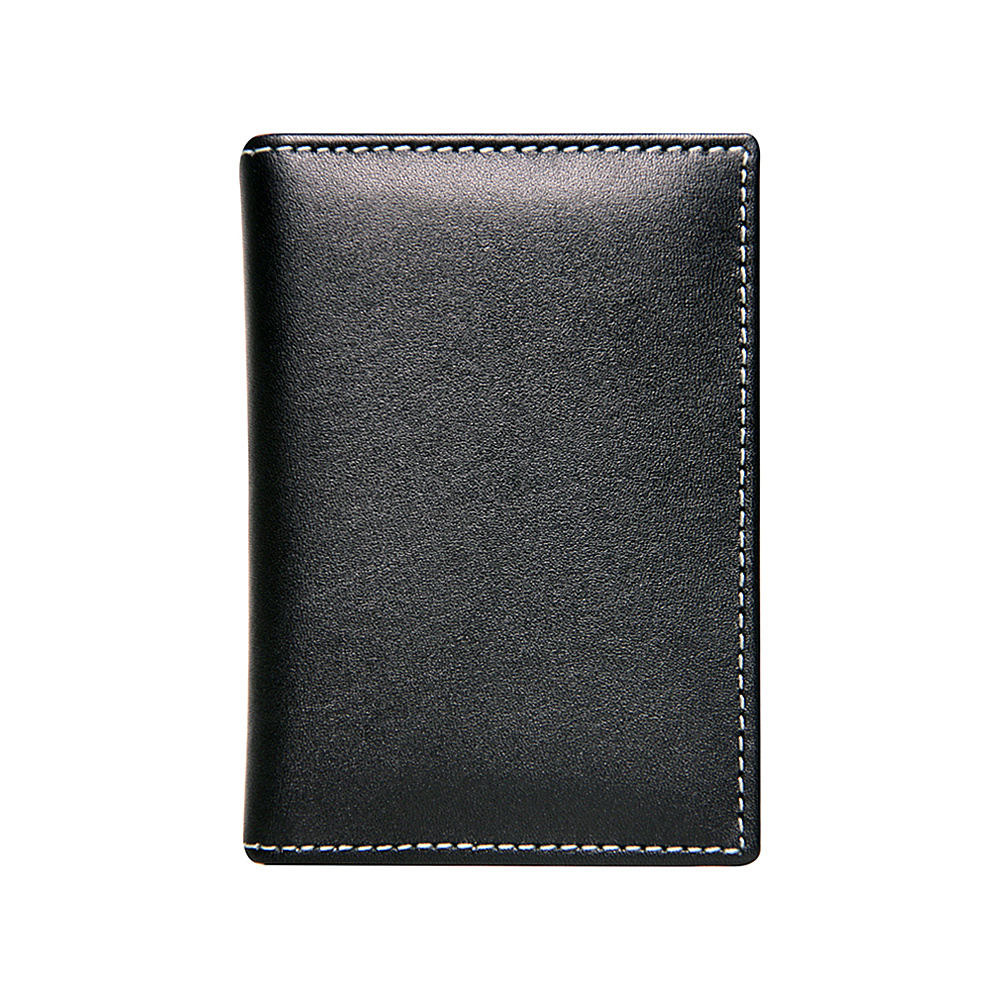 Stewart Stand Leather Exterior Driving Stainless Steel Wallet RFID Black Stewart Stand Men s Wallets