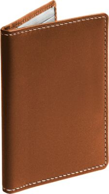 Stewart Stand Leather Exterior Driving Stainless Steel Wallet - RFID Tan - Stewart Stand Men's Wallets