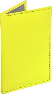 Stewart Stand Leather Exterior Driving Stainless Steel Wallet - RFID Yellow - Stewart Stand Men's Wallets