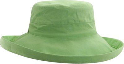 Scala Hats Cotton Big Brim w/ Drawstring One Size - Lime - Scala Hats Hats/Gloves/Scarves
