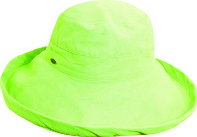 Scala Hats Cotton Big Brim w/ Drawstring One Size - Mint - Scala Hats Hats/Gloves/Scarves