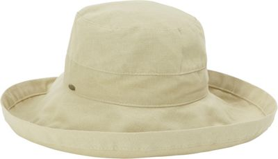 Scala Hats Scala Hats Cotton Big Brim w/ Drawstring One Size - Chino - Scala Hats Hats/Gloves/Scarves