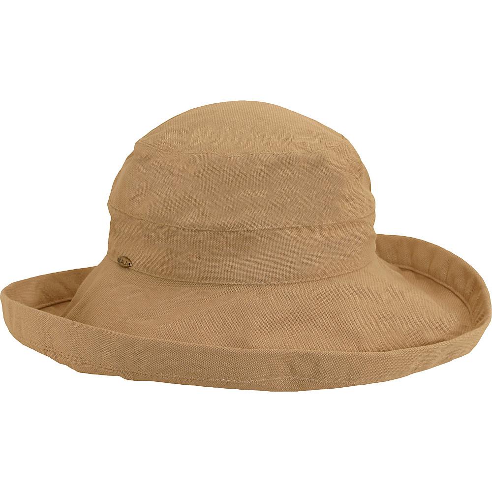 Scala Hats Cotton Big Brim w Drawstring Desert Scala Hats Hats Gloves Scarves