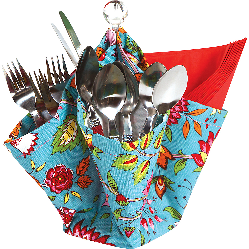 Picnic Plus Decka Utensil Caddy Madeline Turquoise - Picnic Plus Outdoor Accessories