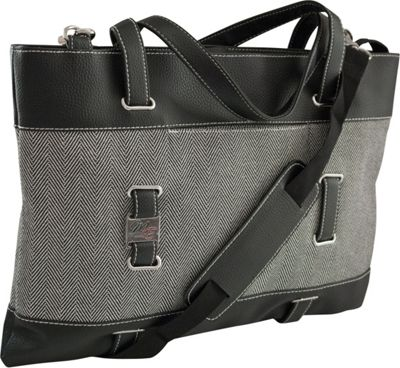 Mobile Edge Mobile Edge Herringbone Ultrabook Tote - 14.1 inch/15 inch Mac Herringbone - Mobile Edge Women's Business Bags