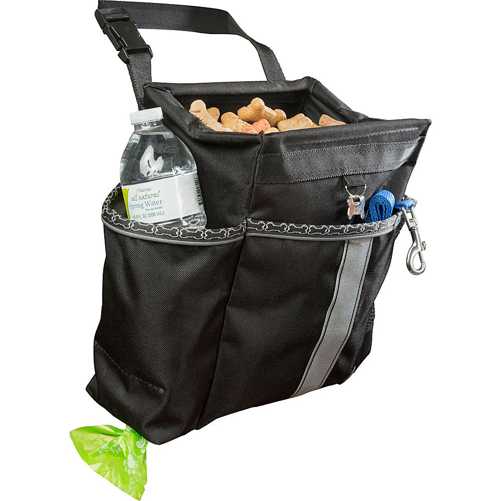 High Road Doggie Organizer Black - High Road Pet Bags