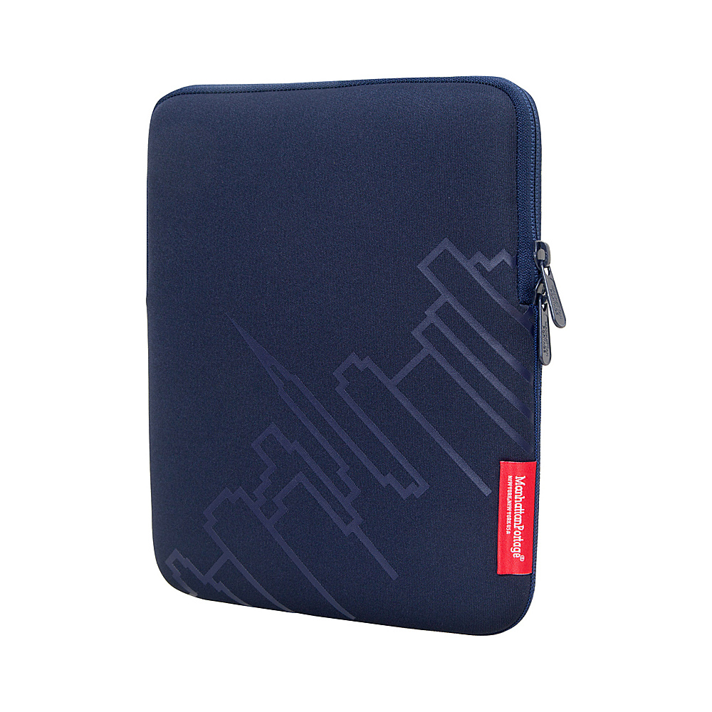 Manhattan Portage Skyline iPad Sleeve (8-10 in.) Navy - Manhattan Portage Electronic Cases - Technology, Electronic Cases