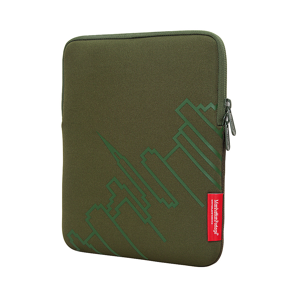 Manhattan Portage Skyline iPad Sleeve (8-10 in.) Olive - Manhattan Portage Electronic Cases - Technology, Electronic Cases