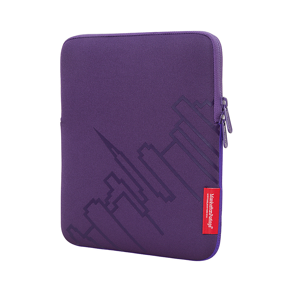 Manhattan Portage Skyline iPad Sleeve (8-10 in.) Purple - Manhattan Portage Electronic Cases - Technology, Electronic Cases