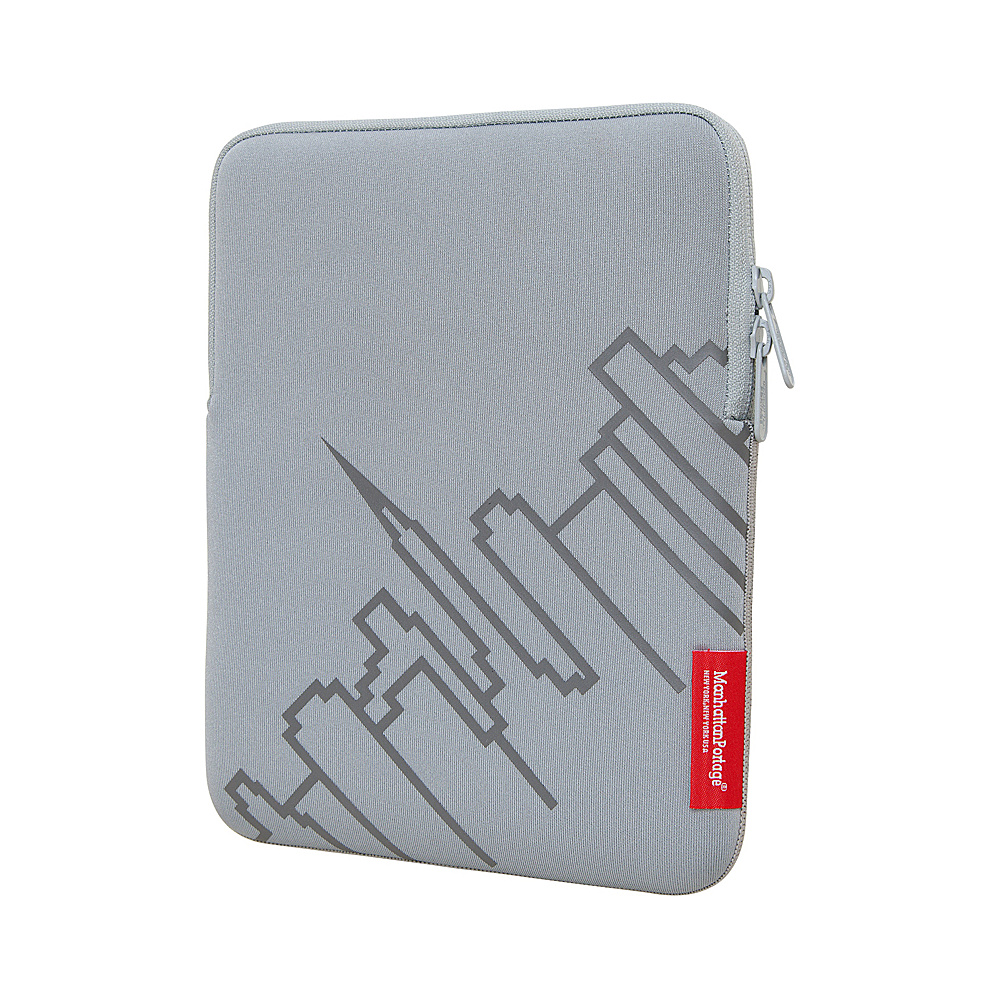 Manhattan Portage Skyline iPad Sleeve (8-10 in.) Silver - Manhattan Portage Electronic Cases - Technology, Electronic Cases