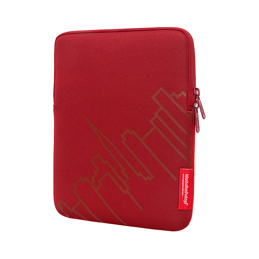 Manhattan Portage Skyline iPad Sleeve (8-10 in.) Red - Manhattan Portage Electronic Cases - Technology, Electronic Cases