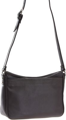 Image of Baggs Amy Shoulder Bag Dk Grey - Baggs Leather Handbags