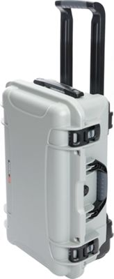 NANUK 935 Case With 4 Part Foam Insert Silver - NANUK Hardside Carry-On