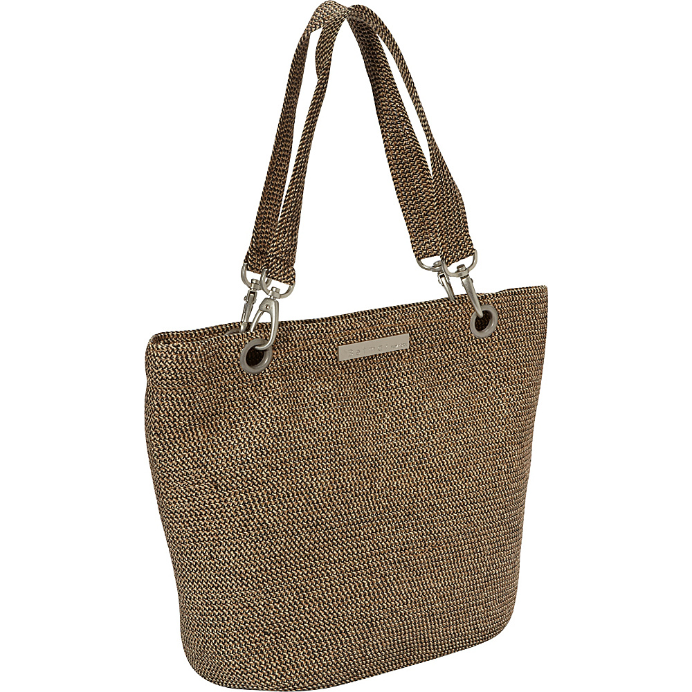 Betmar New York Braid Tote Rattlesnake - Betmar New York Fabric Handbags