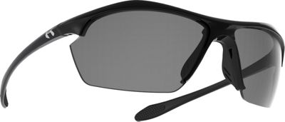 Under Armour Eyewear Zone XL Sunglasses Shiny Black/Gray - Under Armour Eyewear Sunglasses