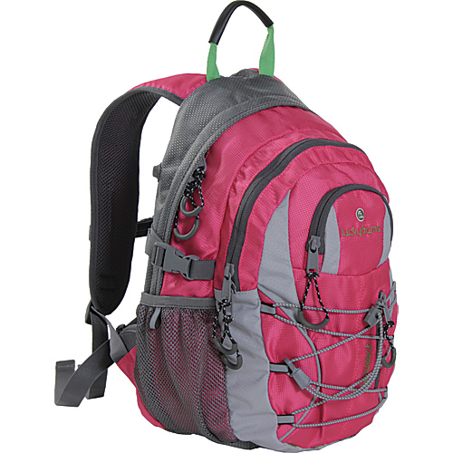Lucky Bums Kids Switchback II Pink - Lucky Bums School & Day Hiking Backpacks