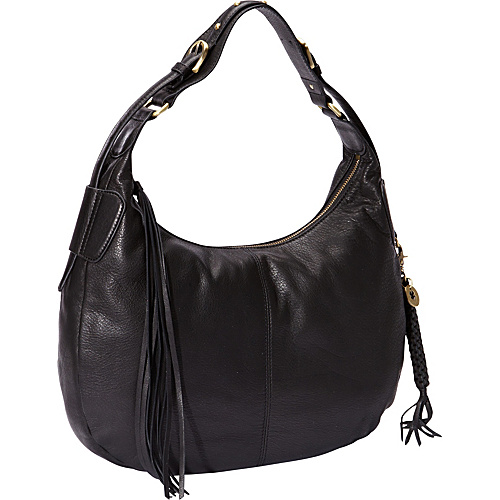 Lucky Brand Glendale Hobo Black - Lucky Brand Leather Handbags
