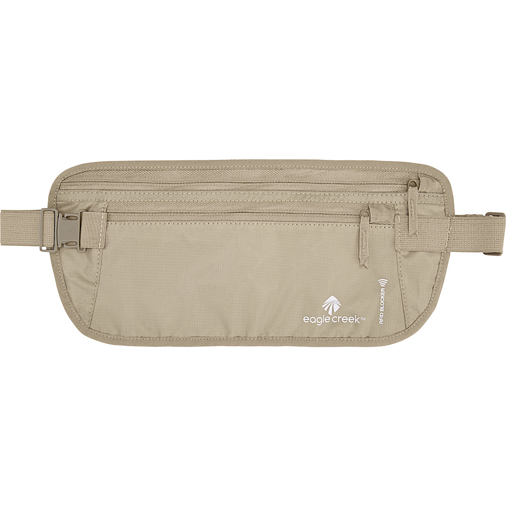 Eagle Creek RFID Blocker Money Belt DLX Tan - Eagle Creek Travel Wallets - Travel Accessories, Travel Wallets