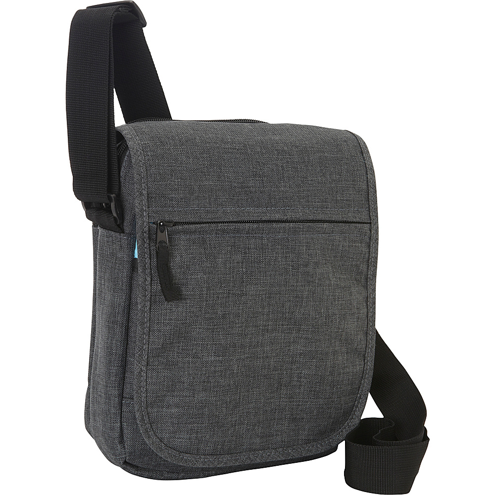 Everest Tablet Utility Bag Charcoal - Everest Men's Bags