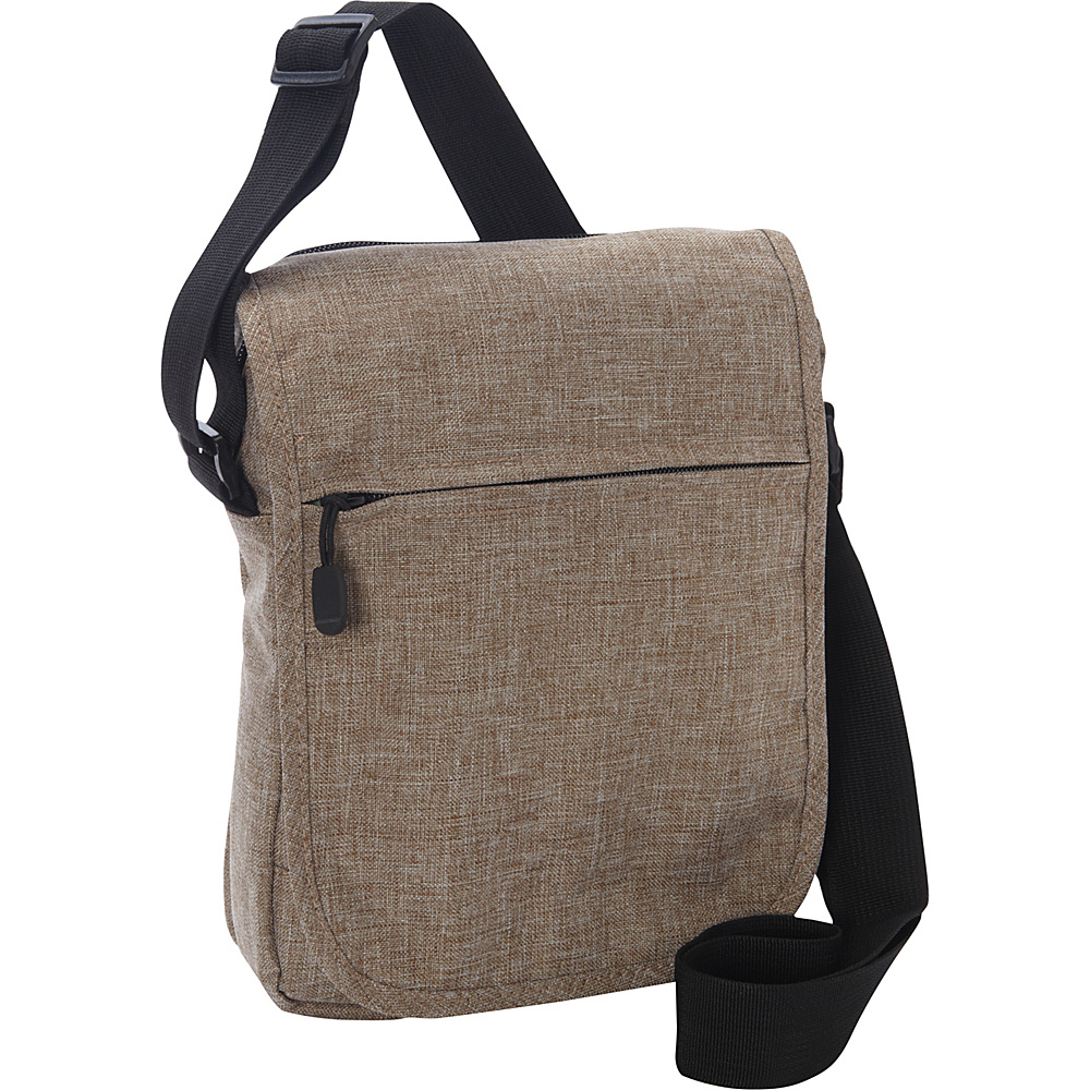Everest Tablet Utility Bag Tan - Everest Men's Bags