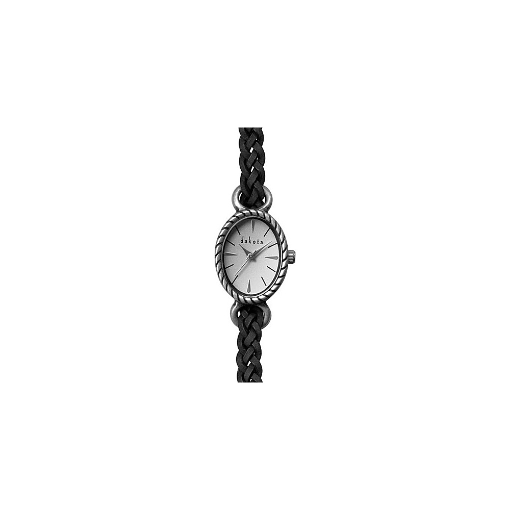 Dakota Watch Company Ladies Antique Braided Black - Dakota Watch Company Watches