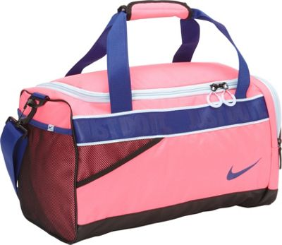 Nike Varsity Duffel Pink Pow/Polar/Deep Royal Blue - Nike All Purpose Duffels