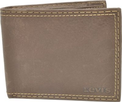 Levi's X-Capacity Slimfold Wallet BROWN - Levi's Men's Wallets