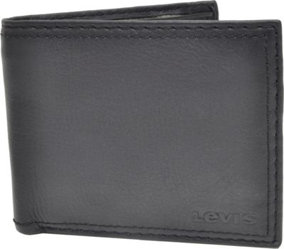 Levi's X-Capacity Slimfold Wallet BLACK - Levi's Men's Wallets