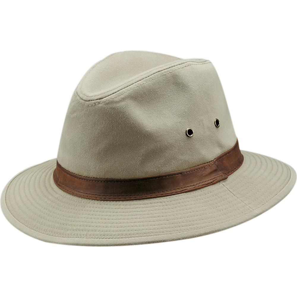 Dorfman Pacific Dorfman Mens Safari 863L Hat Large