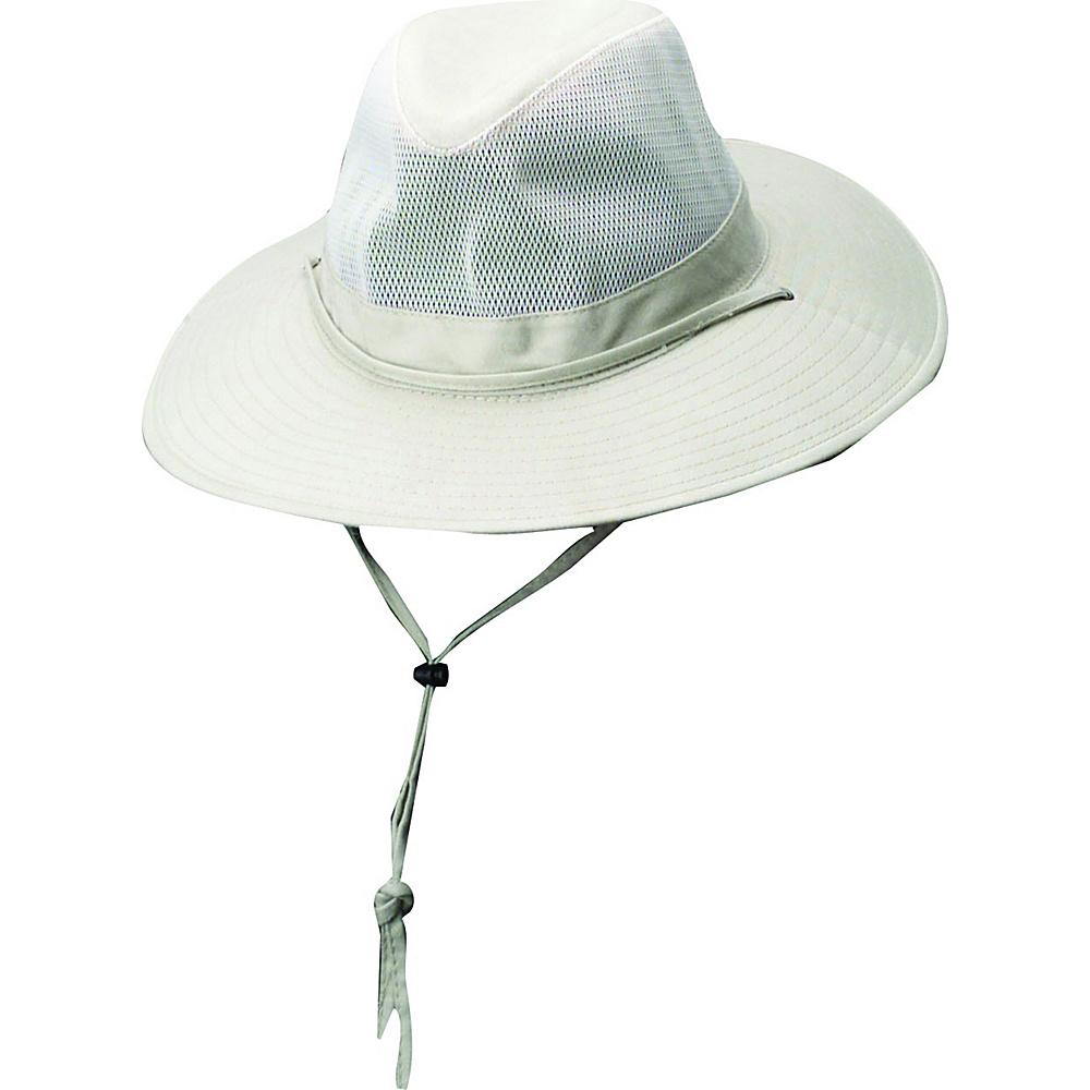 Dorfman Pacific Unisex Solarweave SPF 50+ Safari Hat
