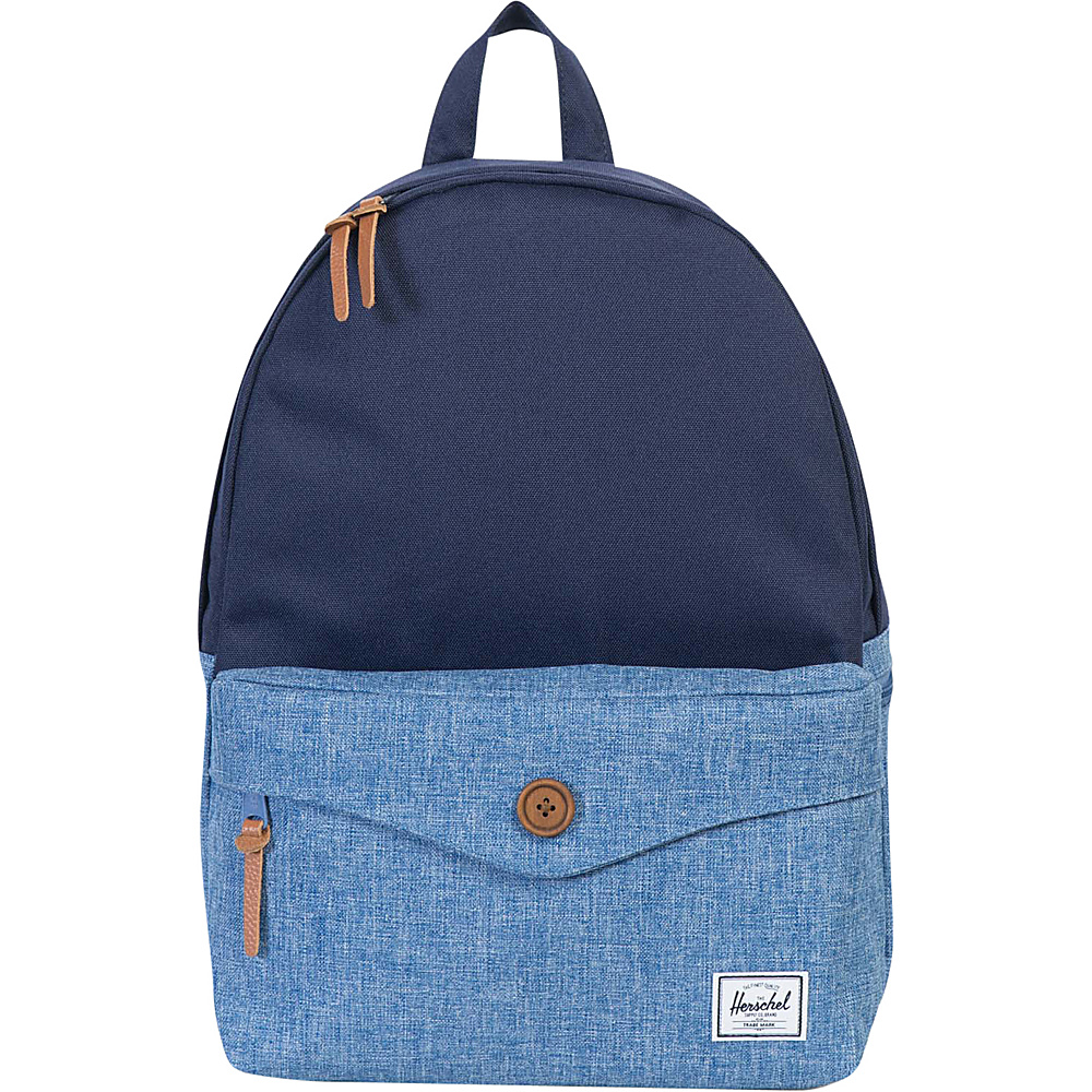 Herschel Supply Co. Sydney Backpack Peacoat Limoges Crosshatch Herschel Supply Co. Everyday Backpacks