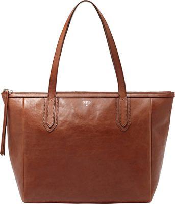 Fossil Sydney Shopper Brown - Fossil Leather Handbags
