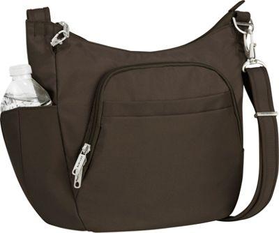 Travelon Anti Theft Classic Crossbody Bucket Bag Cross