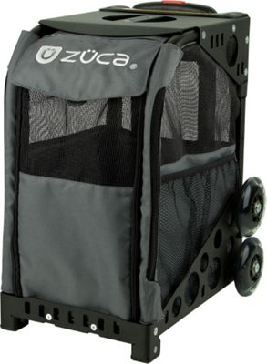 ZUCA Sport Pet Carrier Charcoal/Black Frame Charcoal - ZUCA Pet Bags