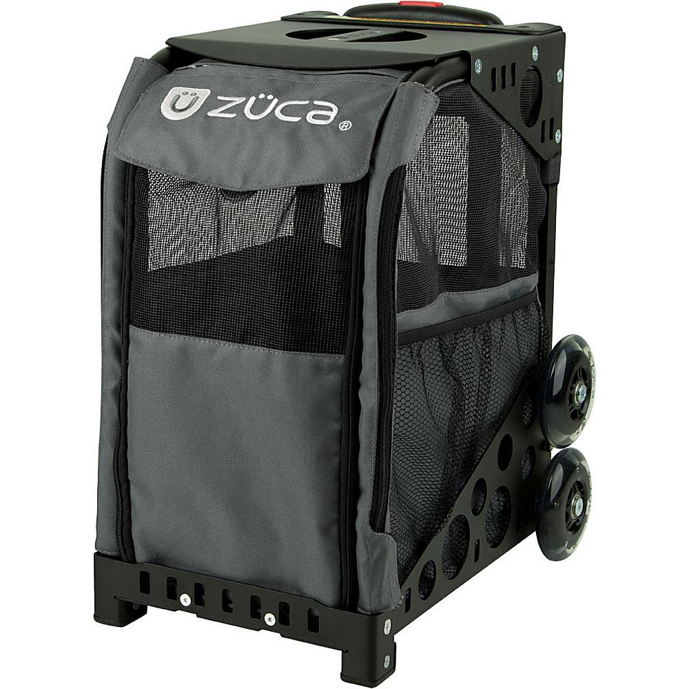 ZUCA Sport Pet Carrier Charcoal Black Frame Charcoal ZUCA Pet Bags