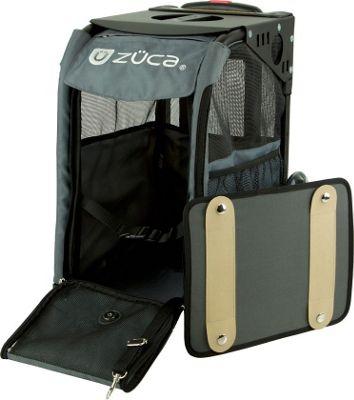 ZUCA Sport Pet Carrier Charcoal/Black Frame Charcoal - ZUCA Pet Bags
