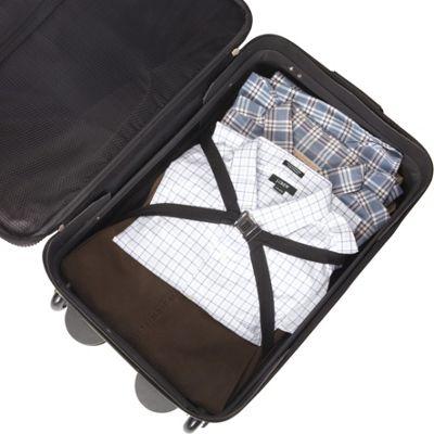 American Tourister Fieldbrook II 4-Piece Nested Luggage Set Black - American Tourister Luggage Sets