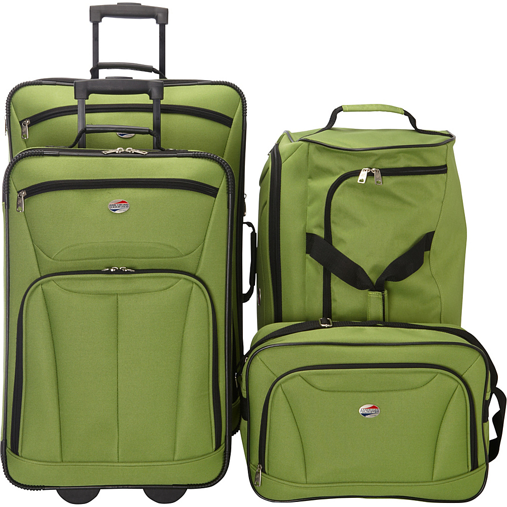 American Tourister Fieldbrook II 4-Piece Nested Luggage Luggage Set NEW | eBay