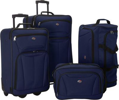 American Tourister Fieldbrook II 4-Piece Nested Luggage 3 Colors ...