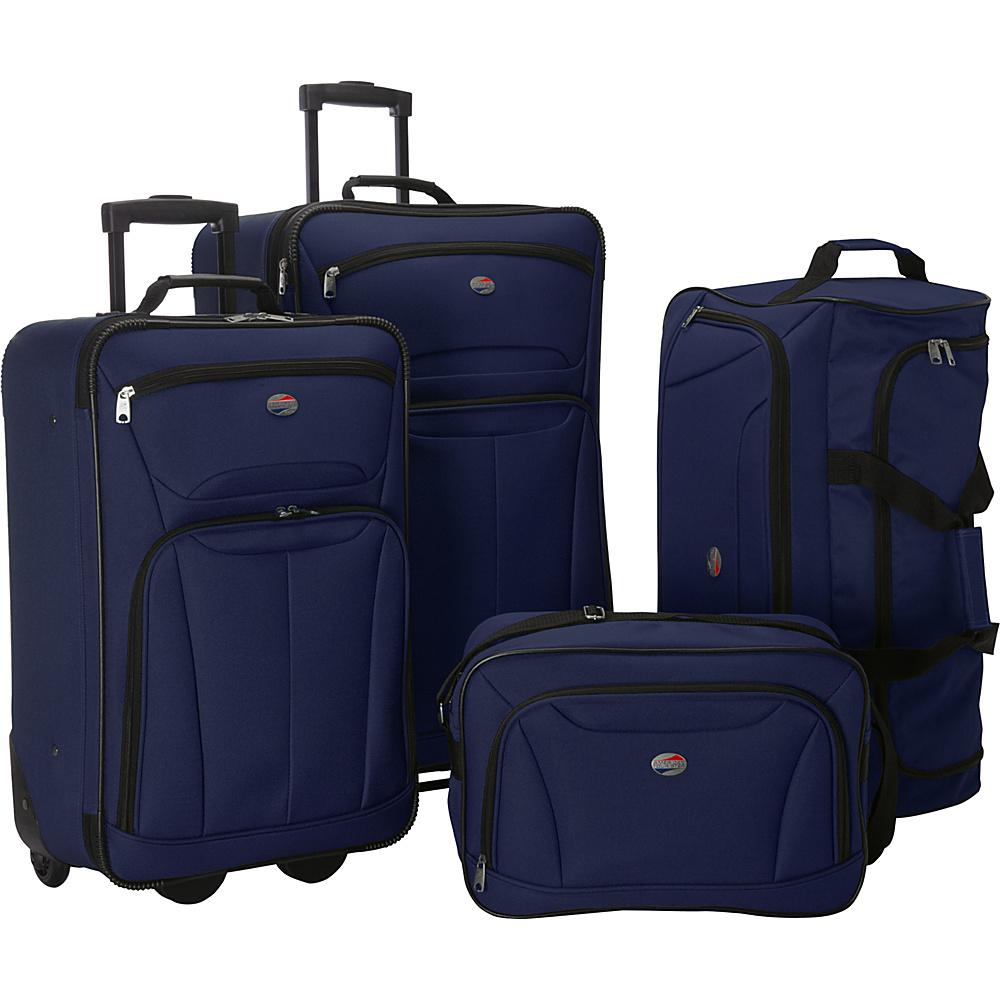 american tourister fieldbrook ii 4 piece nested luggage 3. Black Bedroom Furniture Sets. Home Design Ideas