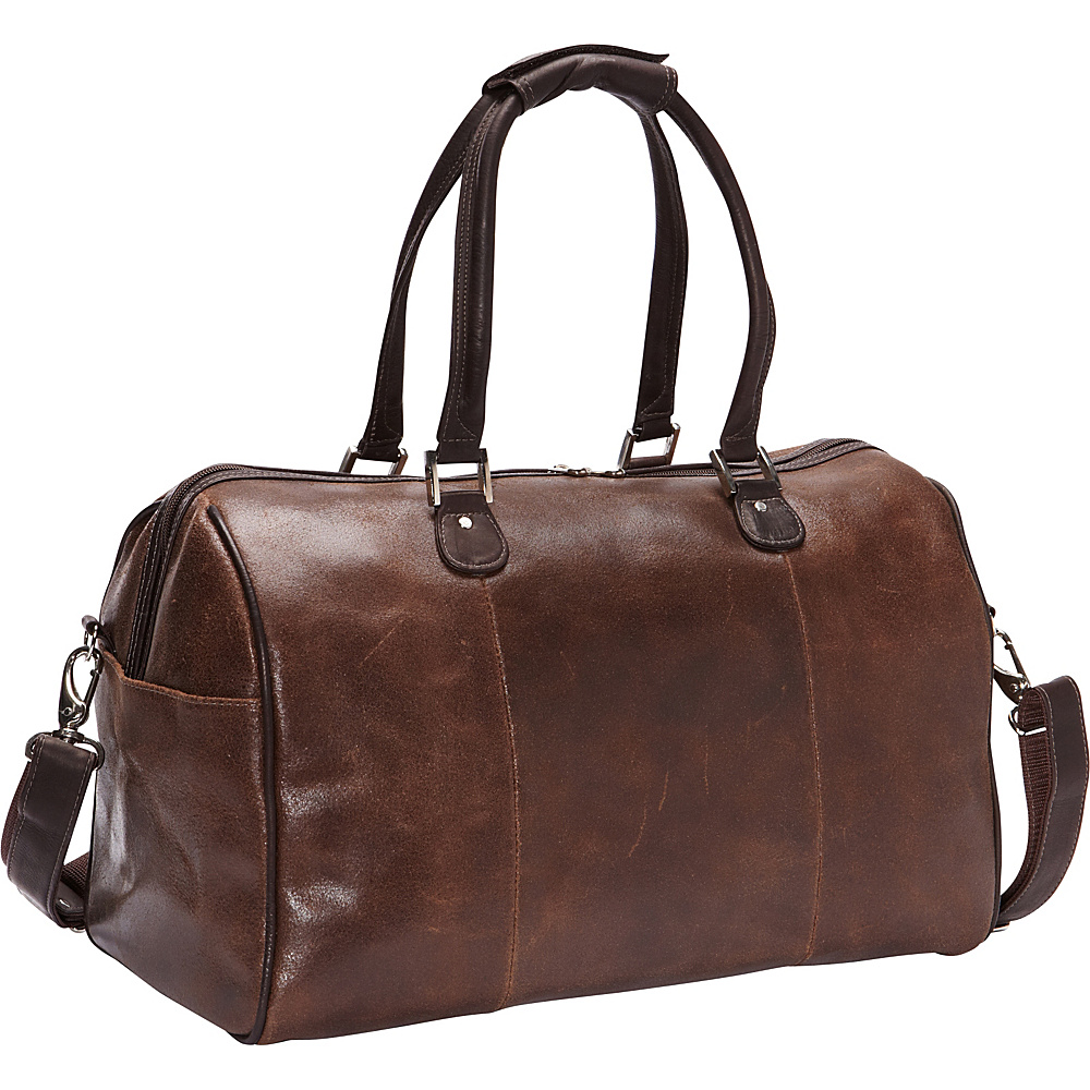 Piel Vintage Leather Carry-On Satchel Vintage Brown - Piel Luggage Totes and Satchels - Luggage, Luggage Totes and Satchels