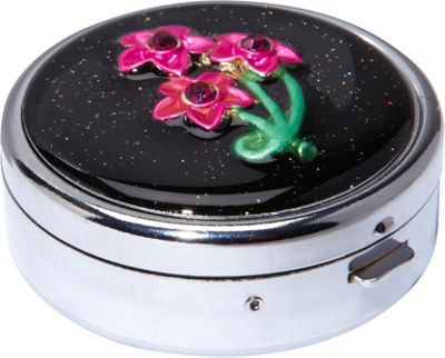Budd Leather Secret Garden Round Pill Box As Shown - Budd Leather Women's SLG Other
