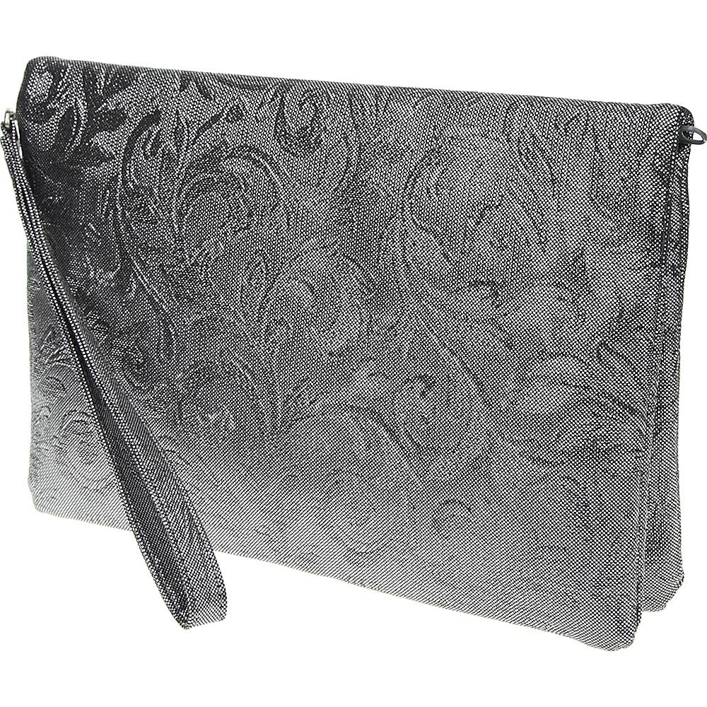 55 00 More Details Nina Handbags Basanti Pewter Evening Bags