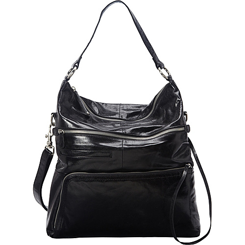 Hobo Quinn Black - Hobo Leather Handbags