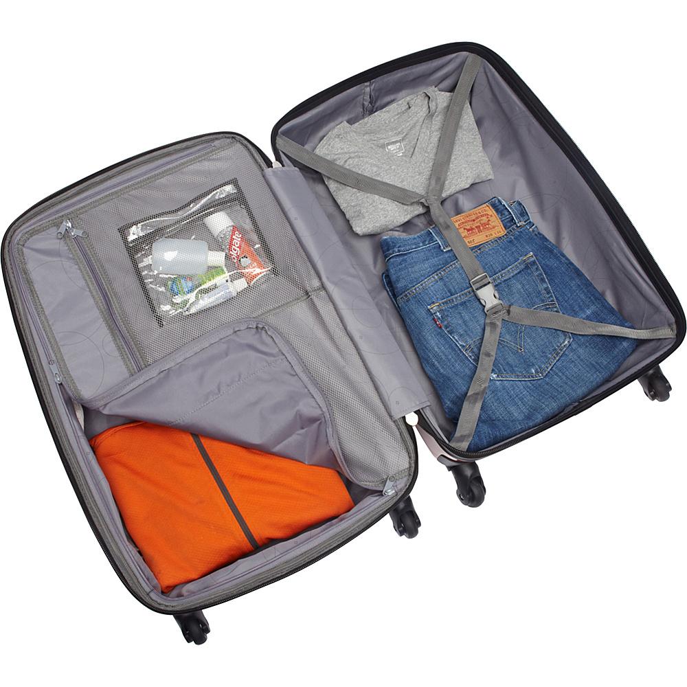 "Samsonite Winfield 2 Fashion Hardside Spinner Luggage - 24"" Orange - Samsonite Hardside Checked"
