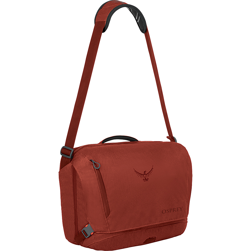 Osprey Beta Courier Bag Pinot Red Osprey Messenger Bags