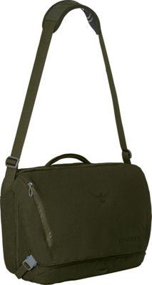 Osprey Beta Courier Bag Forest Green - Osprey Messenger Bags