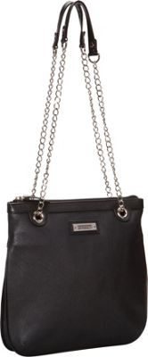 Image of Baggs Carey Shoulder Bag Black - Baggs Leather Handbags